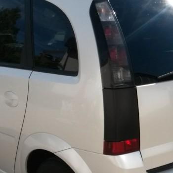 Fahrzeug Vollfolierung Opel Meriva Heck links