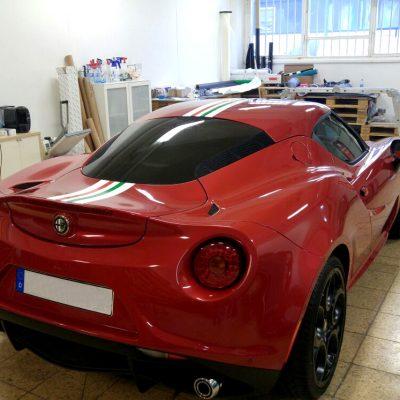 Alfa Romeo C4 Teilfolierung