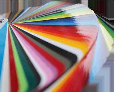 Möbelfolierung Farbfächer