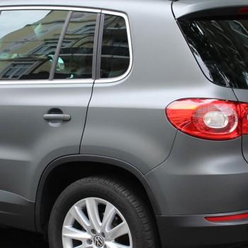 Fahrzeugfolierung VW Tiguan Heckansicht