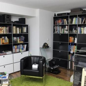USM Haller Möbelfolierung Büro vorher