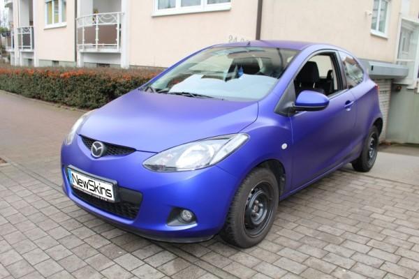Fahrzeugfolierung Mazda 2 Front