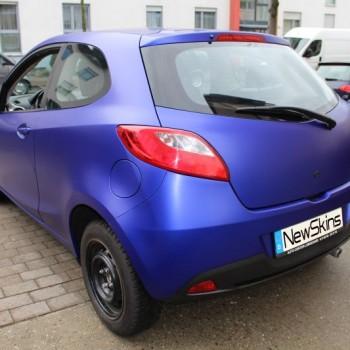 Fahrzeugfolierung Mazda 2 Heck
